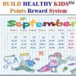 Build Healthy Kids Points Reward System Image